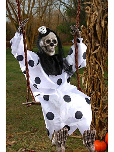 Swinging Dead Clown Hanging Prop]()