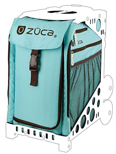 Zuca SIBCA196 Sport Insert Bag Calypso Turquoise Brown 89055900196