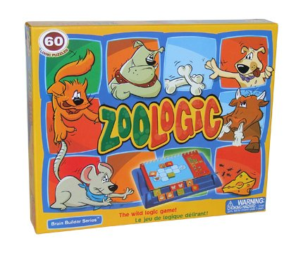 FoxMind Games Zoologic Logic Puzzle Game