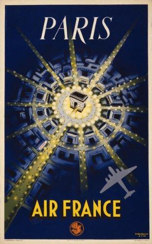 air-france-travel-poster-paris-art-print-measures-24-high-x-18-wide-610mm-high-x-458mm-wide