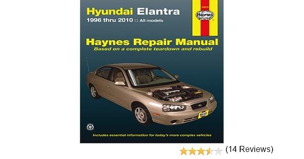 Hyundai elantra 1996 thru 2010 haynes repair manual jj hyundai elantra 1996 thru 2010 haynes repair manual jj haynes 9781563929274 amazon books fandeluxe Gallery
