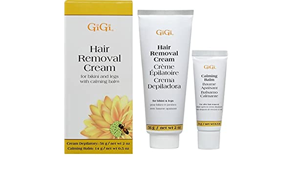 Gigi Hair Removal Cream With Balm For Bikini & Legs by Gigi: Amazon.es: Belleza