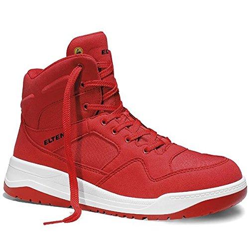 Elten Maverick Red Sicherheitsschuhe S3, Farbe:rot;Schuhgröße:42 (UK 8)