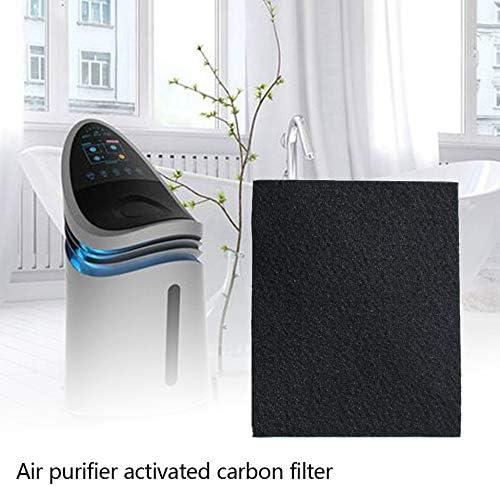00699 Purificateur dair AC4001 Filtre /à charbon actif Filtre de ventilation Filtre de rechange pour filtre de nettoyage Blanc