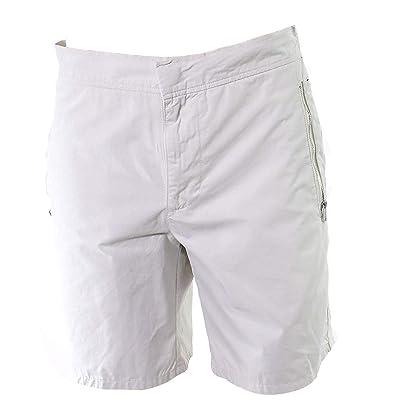 DKNY Birch Mens Cargo Zipper Pockets Stretch Shorts Beige XL | .com