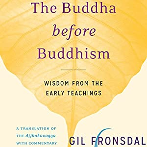 The Buddha Before Buddhism Audiobook