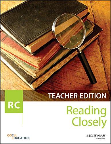 Reading Closely Teacher Handbook, Grades 6-12