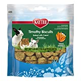 Kaytee Timothy Biscuits Baked Carrot Treat, 4-Oz Bag