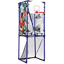 Sport Squad 5-in-1 Multi-Sport Kid's Game Set – Features Baseball, Basketball, Football, Soccer, Darts – Great for Indoor and Outdoor Play