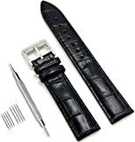CIVO Genuine Leather Watch Bands Top Calf Grain Leather Watch Strap 18mm 20mm 22mm for Men and Women