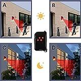 Solar Alarm Light with Motion Sensor, New Chargable