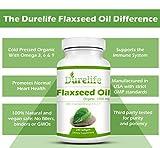 Organic Flaxseed Oil Softgels 1,000 Mg 240