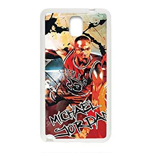Happy Michael Jordan ahionable And Popular Back Case Cover For Samsung Galaxy Note3