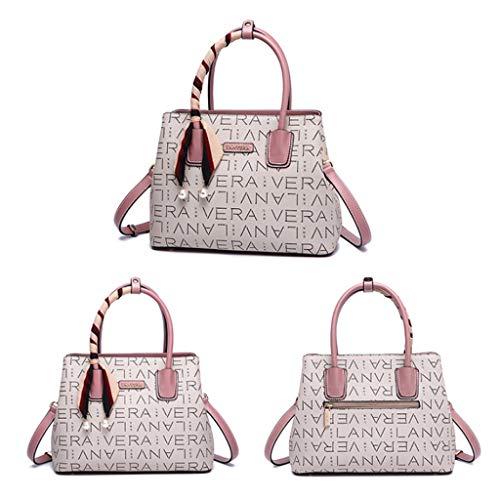 partito Personality multifunzione Joker Crossbody Bag Fashion lavoro Womens posto Hand pergamene di rosa EYxr0Y4qwn