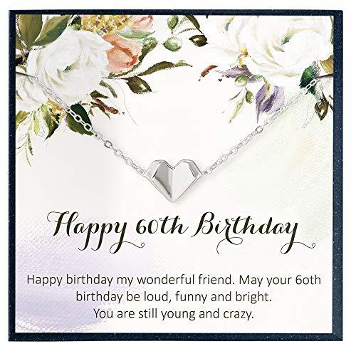 Amazon Com 60th Birthday Gifts For Women Birthday Gift Ideas 60th Birthday Gifts For Mom Sixtieth Birthday Gift Ideas 60 Birthday Bracelet For 60 Birthday Gifts Handmade