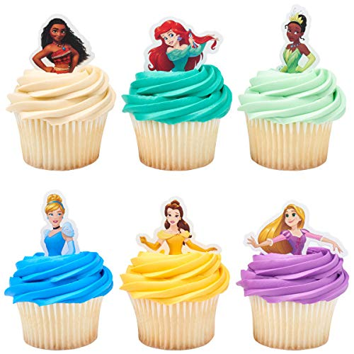 24 Disney Princess Decopics Cupcake Topper Picks