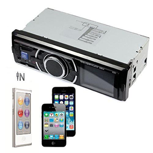 Car Audio Stereo Coper Car Audio Stereo In Dash FM Receiver With Phone MP3/4 Player SD USB Input AUX