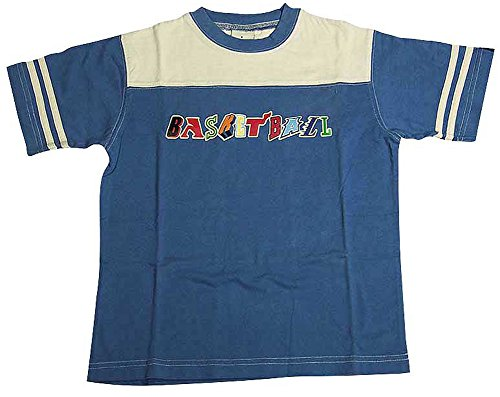 Dogwood Clothing - Little Boys Short Sleeve Tee Shirt, Blue, Tan 11633-4