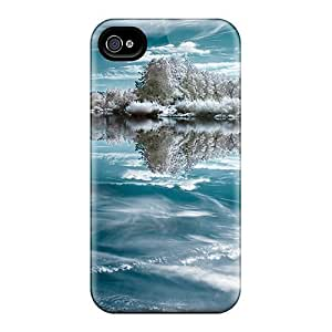 Mirror Of Ice Flip Case With Fashion Design For Case Samsung Galaxy S4 I9500 Cover