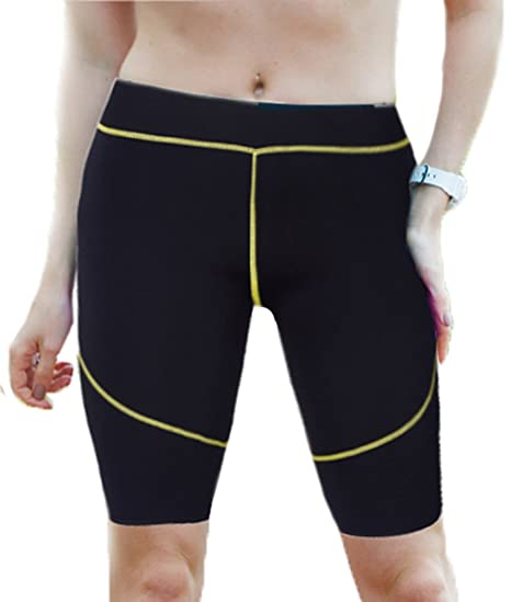 a7ac17ccc0c Image Unavailable. Image not available for. Color  Men Women Sweat Shaper  Pants Hot Thermo Neoprene Slimming Sauna ...