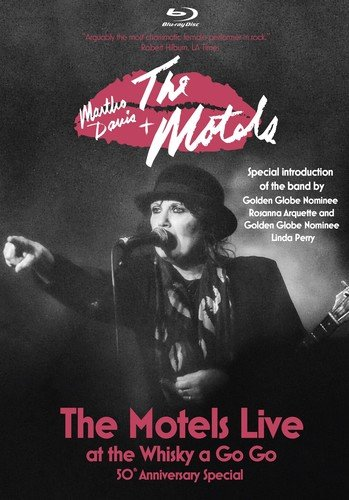 Blu-ray : Martha Davis - The Motels: Live at the Whisky a Go Go: 50th Anniversary Special (Blu-ray)