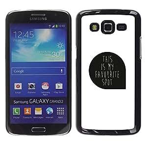 Paccase / SLIM PC / Aliminium Casa Carcasa Funda Case Cover para - A Picture Was Missing - Samsung Galaxy Grand 2 SM-G7102 SM-G7105