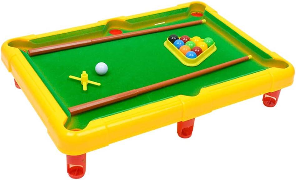 SLONG Mini Mesa de Billar Juguete simulación Billar niños ...