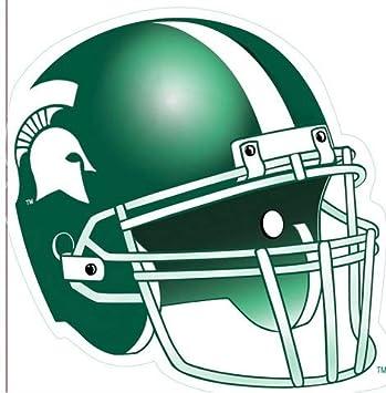 Amazon Com 5 Inch Football Helmet Decal Msu Michigan State