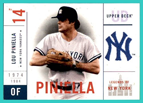 2001 Upper Deck Legends of NY New York YANKEES #112 Lou Piniella
