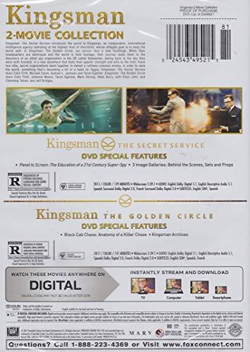 Kingsman 2-Movie Collection (Kingsman: The Secret Service / Kingsman: The Golden Circle)