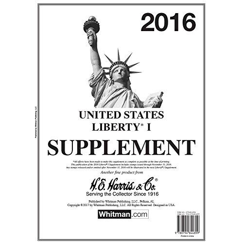 2016 Album - Liberty I 2016 Stamp Album Supplement