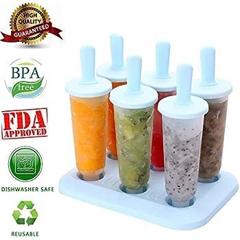 amazon com crayola freezer pops popsicle molds create colorful