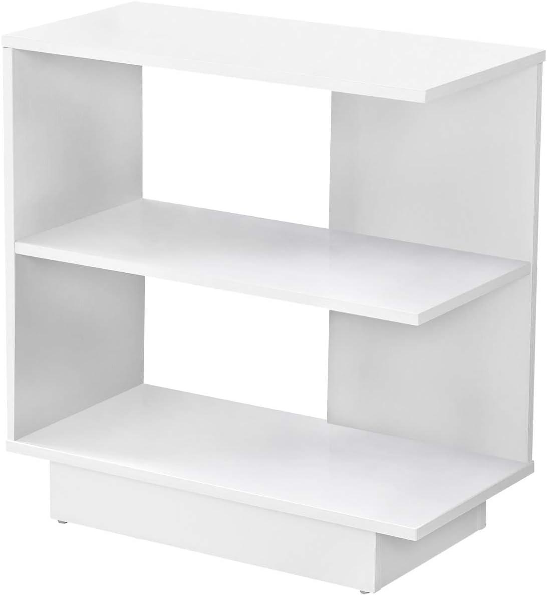 Decovio 15311-W Hampton 24 X 24 inch White Accent End Table