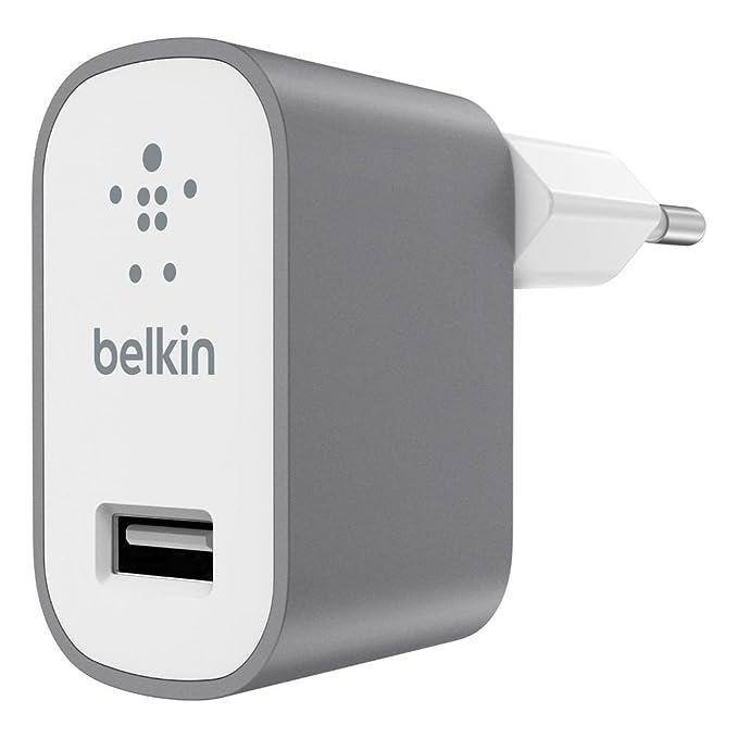16 opinioni per Belkin F8M731vfGRY Caricabatteria da Casa Metallico MIXIT, Grigio