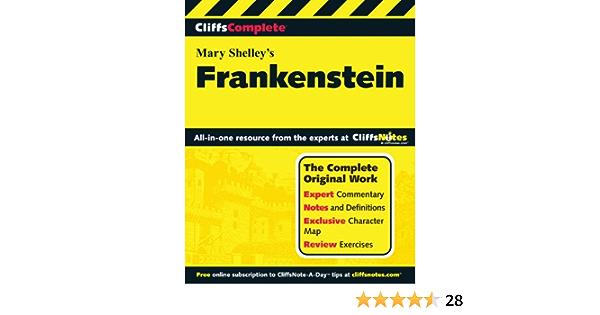 Amazon Com Cliffscomplete Frankenstein 9780764587269 Munteanu Anca Shelley Mary Books