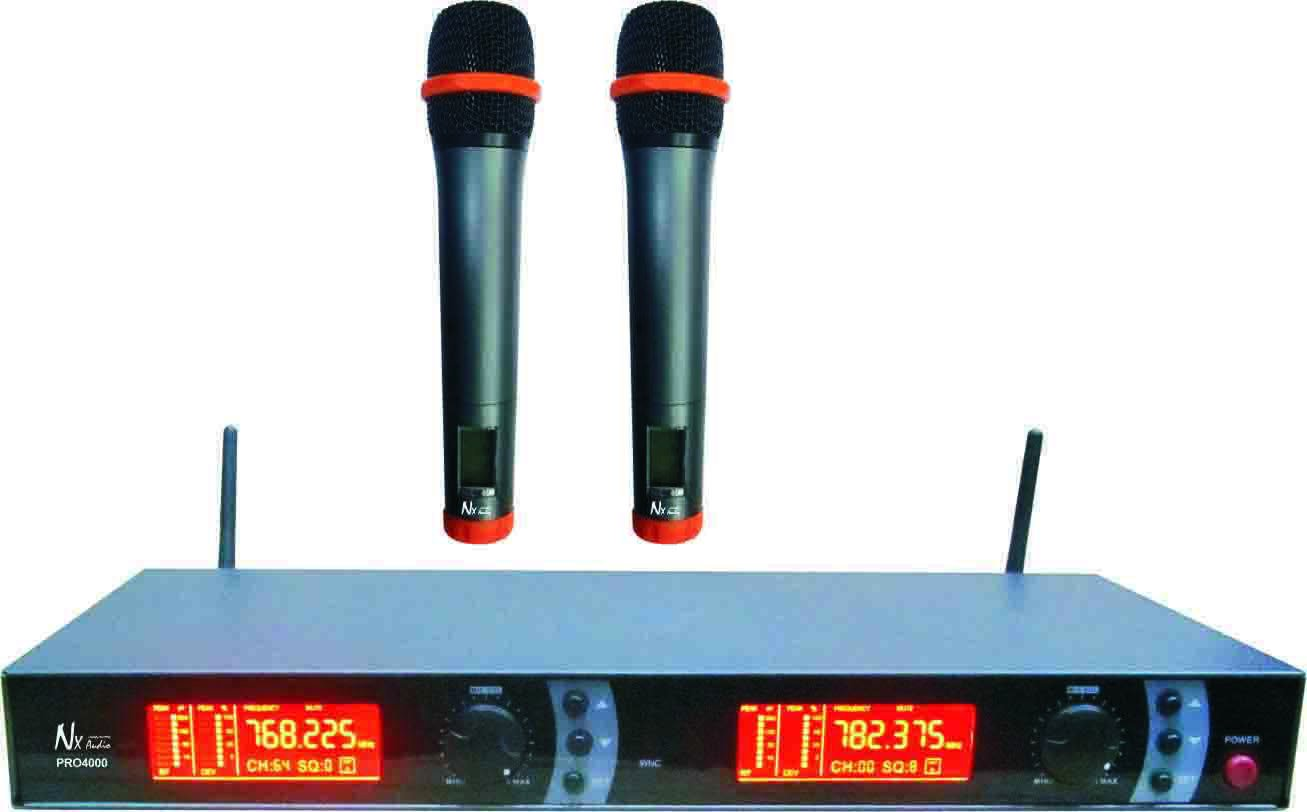 NX Audio PRO4000MK2 HH Wireless Microphones