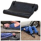 TSOICONN Folding Automotive Rolling Mat Zero Ground