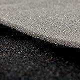 Foam-Backed Automotive Headliner Black Fabric By The Yard