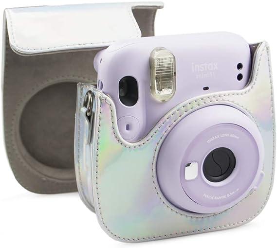 MUZIRI KINOKOO Mini 11 Paquete de accesorios para Fujifilm Instax Mini 11 Estuche protector con 8 accesorios /útiles Estuche de lente con filtro de color 4 Lente Selfie Azul