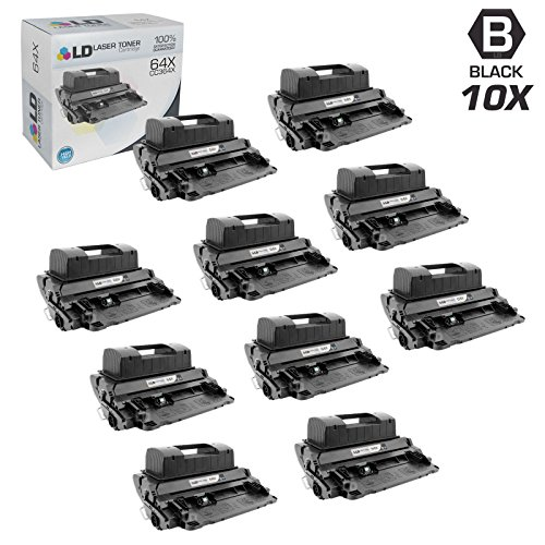 (LD Compatible Toner Cartridge Replacement for HP 64X CC364X High Yield (Black, 10-Pack))