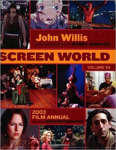 Screen World Volume 54: 2003 (John Willis Screen World)