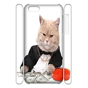 C-Y-F-CASE DIY Cute Cat Pattern Phone Case For iPhone 5C