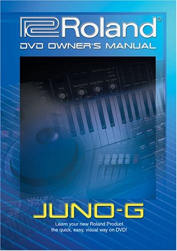 Roland Juno G Video Training Tutorial product image
