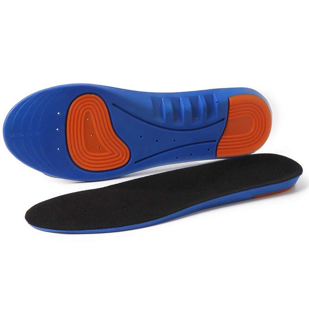 Rosepoem Einlegesohle - Blaue Balleinlage, schweißabsorbierende und atmungsaktive Sporteinlage, kann geschnitten Werden