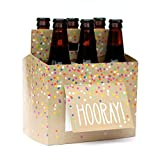 Beer Greetings Birthday Card Box, 4 Count