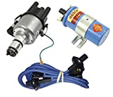 SCREAMER KIT BLUE, WITH EMPI 9441-B ELECTRONIC 009 DISTRIBUTOR & BOSCH BLUE COIL, FOR VW BUG, BEETLE, GHIA, BUS, TYPE 3