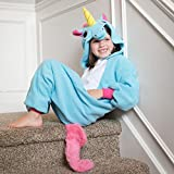 Kids-Unicorn-Animal-Onesie-Pajama-Costume-Soft-and-Comfortable-with-Pockets