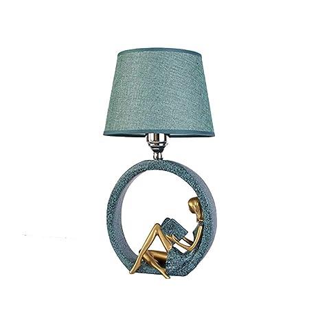 Lámpara de Mesa de Noche de Dormitorio Creativo Lámpara de ...