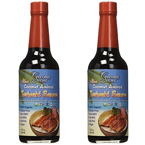 Coconut Secret, Teriyaki Sauce, Coconut Aminos, 10 fl oz (Teriyaki Sauce Ingredients)