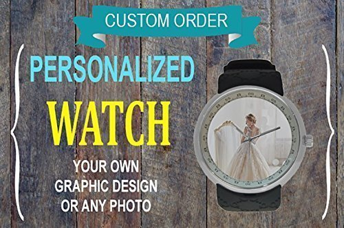 Custom Fossil Watches - Custom Watch, Men Watch, Resin Watch, Elegant, Personality, Gift for Him, Anniversary, Wedding Gift, Pm us with Photo or Quotes